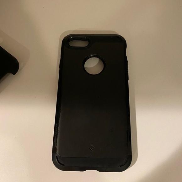 Caseology iPhone 7 matte black phone case